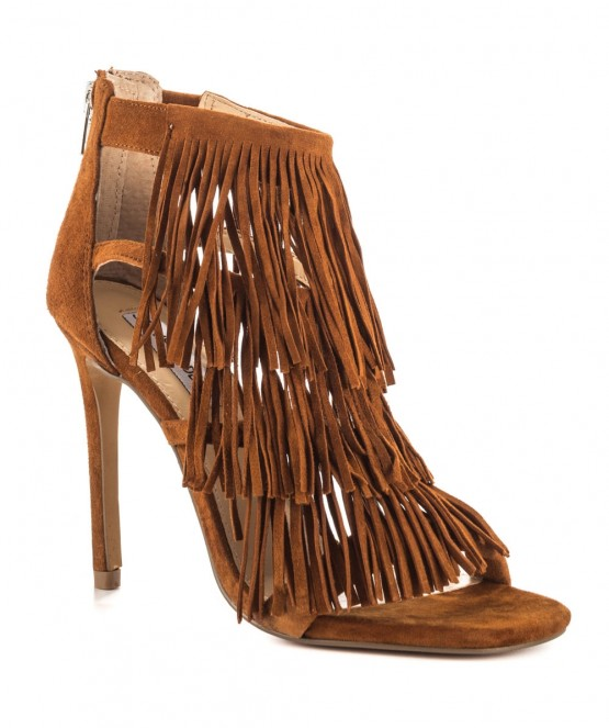 STEVE MADDEN Fringly Brown